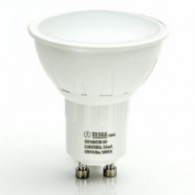 Tesla LED žárovka GU10, 5W, 230V, 400lm, 30 000 hod., 3000K, teplá bílá, 100° stmívatelná