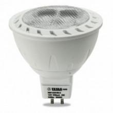 Tesla ED žárovka GU5,3 MR16, 4W, 12V, 320lm, 20 000 hod., 3000K, teplá bílá, 38°
